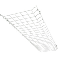 Wire Guard For LED Flat 4 ft. High Bay - 46 x 13 x 1.5 in. - Use with LED Low Profile Panel Troffers - High Bay Not Included