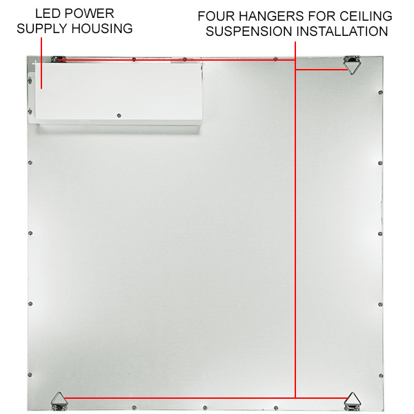 2 x 2 LED Panel - 3800 Lumens - 40 Watt Image