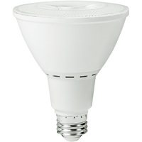 1000 Lumens - 3000 Kelvin - LED - PAR30 Long Neck - 13 Watt - 90W Equal - 40 Deg. Flood - CRI 82 - 277V - MaxLite 74686