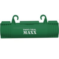 Twist and Seal Maxx - 10 x 4 in. Extension Cord Protector - Weather Resistant - Protection for Heavy Duty Extension Cord Connections - Green