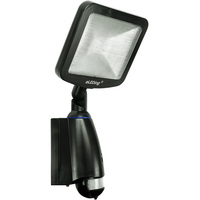 8 Watt - Solar Powered - LED Flood Fixture - Dusk to Dawn Photocell - 5000 Kelvin - PLT EE818plus(BP)