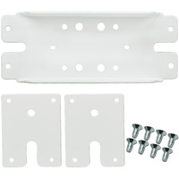 Back Plates - For 1 Aircraft Cable - For Use with Green Creative QWIKLINK Strip Fixtures - Green Creative 97885