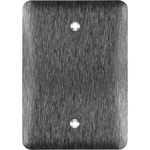 Blank Wall Plate - Stainless Steel - 1 Gang Image