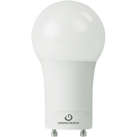 860 Lumens - LED A19 - GU24 Base - 9 Watt - 60W Equal - 4000 Kelvin - Cool White - 120 Volt - Green Creative 97910