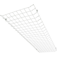 Lamp Wire Guard - For use with 4 ft. LED Linear High Bay Fixtures -View Specifications for Compatible Fixtures - PLT 55208