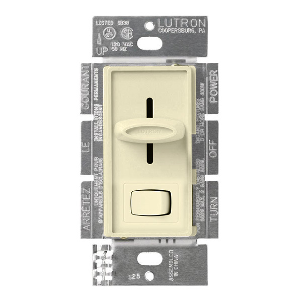 Lutron Skylark SCL-153P-AL - 600 Watt Max. - CFL/LED or Incandescent/Halogen Dimmer Image