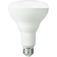 800 Lumens - 3000 Kelvin Halogen White - LED BR30 - 12 Watt - 65W Equal - Dimmable - 120V