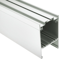 3.28 ft. Anodized Aluminum DES KPL Channel Extrusion - For LED Tape Light and Strip Light - Klus 18030ANODA_1