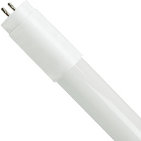 3000 Kelvin - 1575 Lumens - 15W - T8 LED Tube - F32T8 Replacement - Works with Compatible Ballast Only - 120-277V