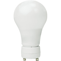 800 Lumens - 8.5 Watt - 60W Incandescent Equal - LED A19 - GU24 Base - 3000 Kelvin Halogen White - Euri Lighting EA19-2000eG
