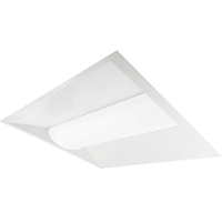 3600 Lumens - 2 x 2 LED Troffer Retrofit - 4000 Kelvin - 25 Watt - Opaque Lens - 120-277V - For use with Fluorescent Fixtures - Green Creative 28339