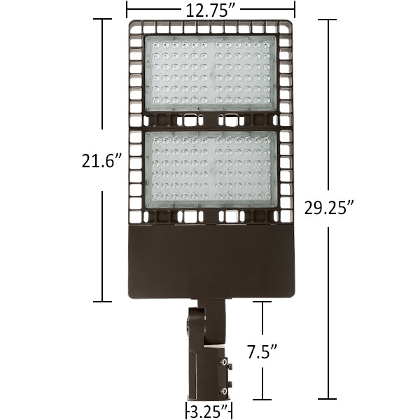LED - Parking and Flood Fixture - 300 Watt - Replaces 1000 Watt HID Image