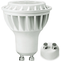 450 Lumens - 5000 Kelvin - LED - PAR16 - 6.5 Watt - 60W Equal - 40 Deg. Flood - CRI 80 - GU10 Base - Euri Lighting EP16-1050ew