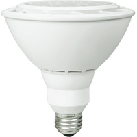 1500 Lumens - 3000 Kelvin - LED - PAR38 - 18 Watt - 100W Equal - 40 Deg. Flood - CRI 80 - 120V