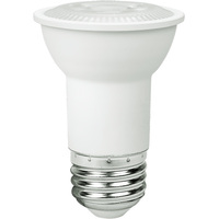 500 Lumens - 5000 Kelvin - LED - PAR16 - 6.5 Watt - 50W Equal - 40 Deg. Flood - CRI 80 - Euri Lighting EP16-3050EW