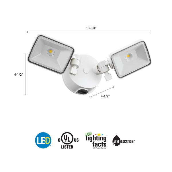 Lithonia OLF 2SH 40K 120 PE BZ M4 - LED Floodlight  Image