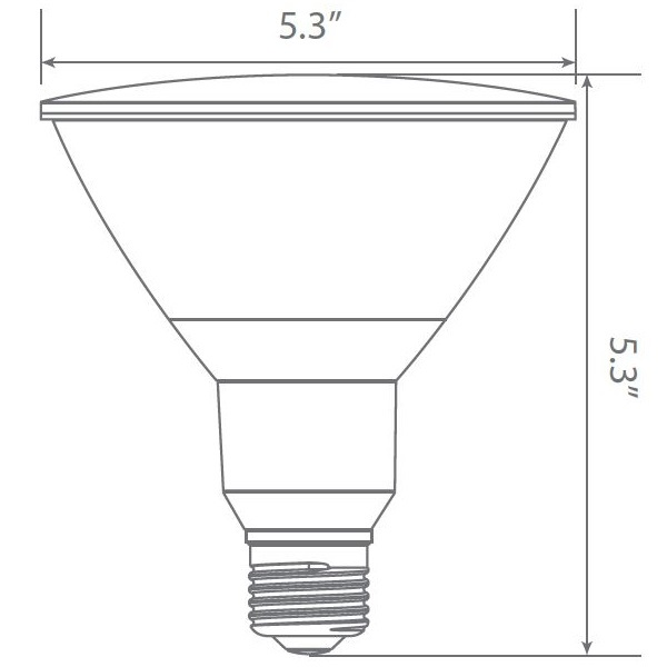 LED - PAR38 - 19 Watt - 1400 Lumens Image