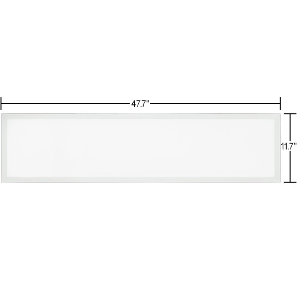1x4 Ceiling LED Panel Light - 4673 Lumens - 37 Watt Image