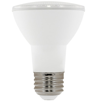 550 Lumens - 3000 Kelvin - LED - PAR20 - 9 Watt - 50W Equal - 40 Deg. Flood - CRI 90 - Euri Lighting EP20-5000ew