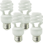 14 Watt - CFL - 60W Equal - 2700K Warm White - 4 Pack Image