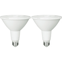 1050 Lumens - 3000 Kelvin - LED - PAR38 - 15 Watt - 100W Equal - 40 Deg. Flood - CRI 90 - 2 Pack