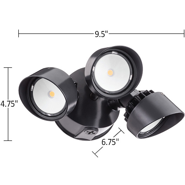 Lithonia OLF3RH40K120BZM4 - LED Flood Light Image