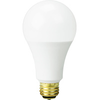 LED A21 - 3-Way Light Bulb - 5/9/16 Watt - 40/60/100 Watt Equal - 450/800/1600 Lumens - 3000 Kelvin Halogen White - PLT 91083