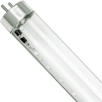 4 ft. T8 LED Black Light Tube - 18 Watt - 405nm Output - Works with Compatible Ballast Only