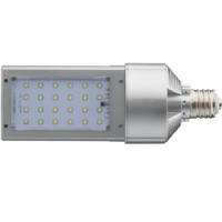 13,300 Lumens - 120 Watt - LED Wall Pack Retrofit Lamp - 400W MH Equal - 4000 Kelvin - Mogul Base - Universal Mount - Operated by Bypassing Existing Ballast - 120-277V - 5 Year Warranty