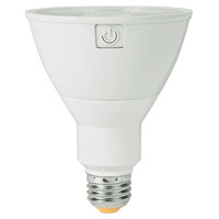 1000 Lumens - 2700 Kelvin - LED - PAR30 Long Neck - 13 Watt - 75W Equal - 25 Deg. Narrow Flood - CRI 90 - Green Creative 58114