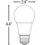 LED - A19 - 11 Watt - 75W Incandescent Equal