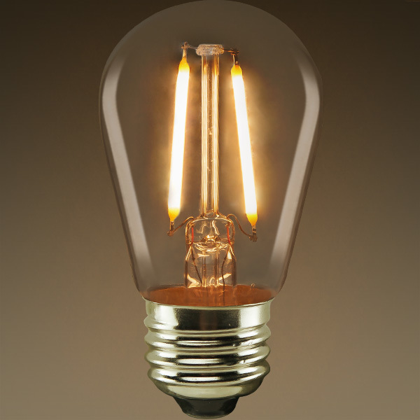 S14 - LED - Vertical Filament - 2.5 Watt Image