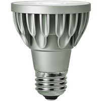 LED PAR20 - 11 Watt - 75 Watt Equal - Color Corrected - 540 Lumens - 3000 Kelvin - 60 Deg. Wide Flood - 120 Volt - Soraa 01621