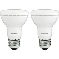 325 Lumens - 2700 Kelvin Warm White - LED R20 - 5 Watt - 45W Equal - 120V - 2 Pack - Sylvania 78696