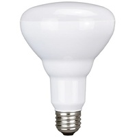 650 Lumens - 4000 Kelvin Cool White - LED BR30 - 9 Watt - 65W Equal - Dimmable - 120V - PLT 91344
