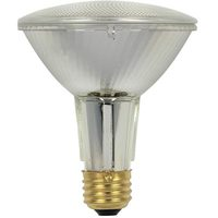 38 Watt - PAR30 - 50 Watt Equivalent - Long Neck - Flood - Halogen - 1,500 Life Hours - 520 Lumens - 120 Volt