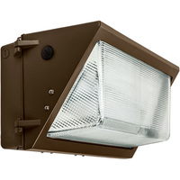8000 Lumens - LED Wall Pack - 80 Watt - 400W MH Equal - 4000 Kelvin - 120-277V - PLTE1313