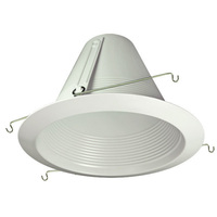 6 in. - White - Airtight Baffle Cone - Aluminum
