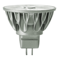 LED MR16 - 7.5 Watt - 50 Watt Equal - Halogen Match - 500 Lumens - 3000 Kelvin - 10 Deg. Narrow Spot - 12 Volt - GU5.3 Base - Soraa 00921