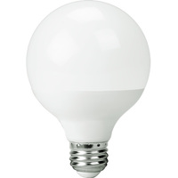 500 Lumens - 6W - 60W Equal - LED G25 Globe - 3.15 in. Diameter - 2700 Kelvin - Frosted - Medium Base - 120V
