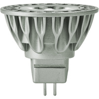 Soraa 00933 - 525 Lumens - 3000 Kelvin - LED MR16 - 7.5 Watt - 50W Equal - 25 Deg. Narrow Flood - CRI 85 - Dimmable - 12V - GU5.3