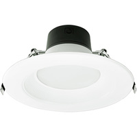 Wattage Selectable - 6 in. LED Downlight - Watts 8.5-13.5-21 - 2700 Kelvin - 1400 Lumens - 120-277 Volt - Green Creative 57868