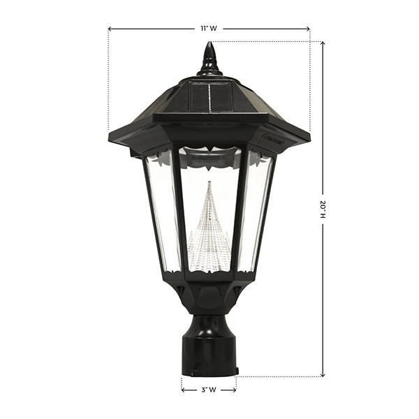 Solar Windsor Lamp with 3 in. Fitter Image