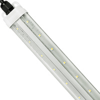 2600 Lumens - 6 ft. LED Cooler Light - 4000 Kelvin - 22W - 120V - Interconnectable