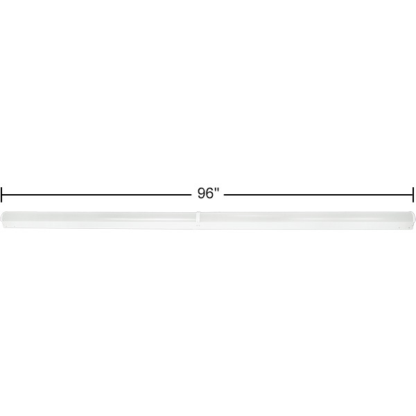 LED Strip Fixture With Lens - 8 ft. Image