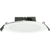6 in. Ultra Thin LED Downlight - 11.6 Watt - 75 Watt Incandescent Equal - 800 Lumens - 3000 Kelvin - Round - White Trim - Dimmable - 120V - Green Creative 58029