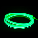 Flexible LED Neon Rope Light - Green Image
