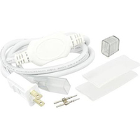 LED Power Connection Kit - For Flexible LED Neon Rope Light - 120 Volt