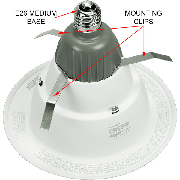 6 in. Retrofit LED Downlight - 9.5W Image