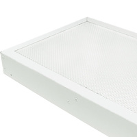 Prismatic Lens for Fluorescent High Bay Fixtures - 4 Lamp - HBC4T5/HBC4T8 - PLT HBC4DFA